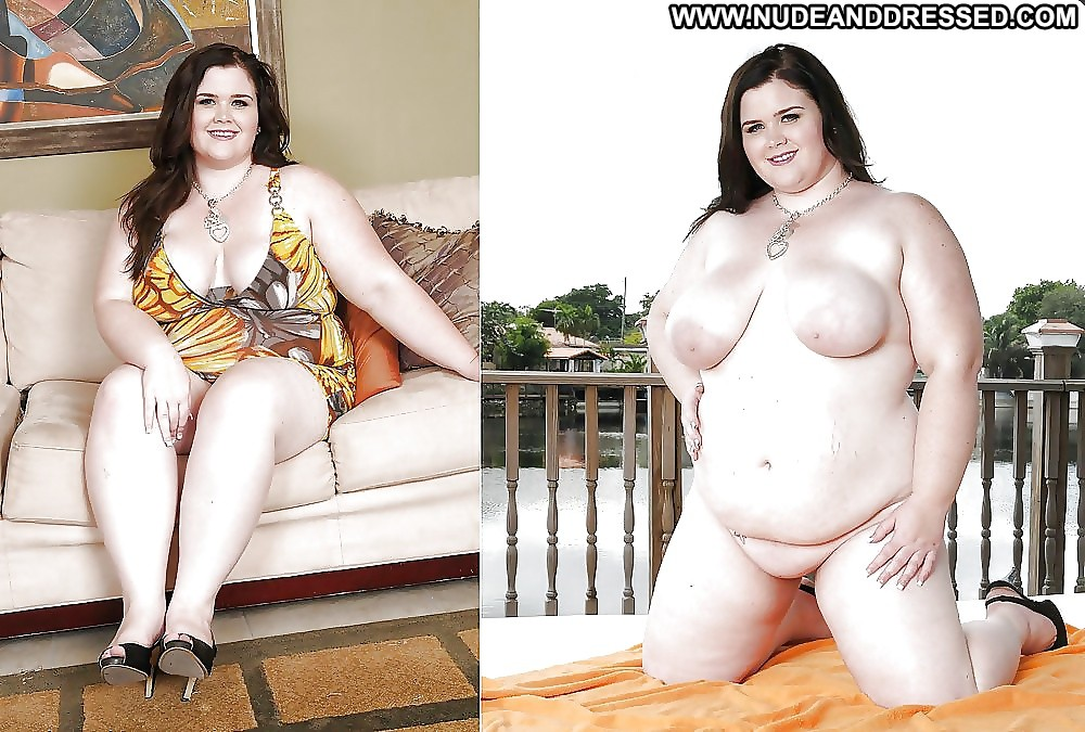Dressed undressed and size plus women