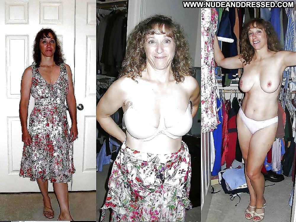 before and after nude and clothed women