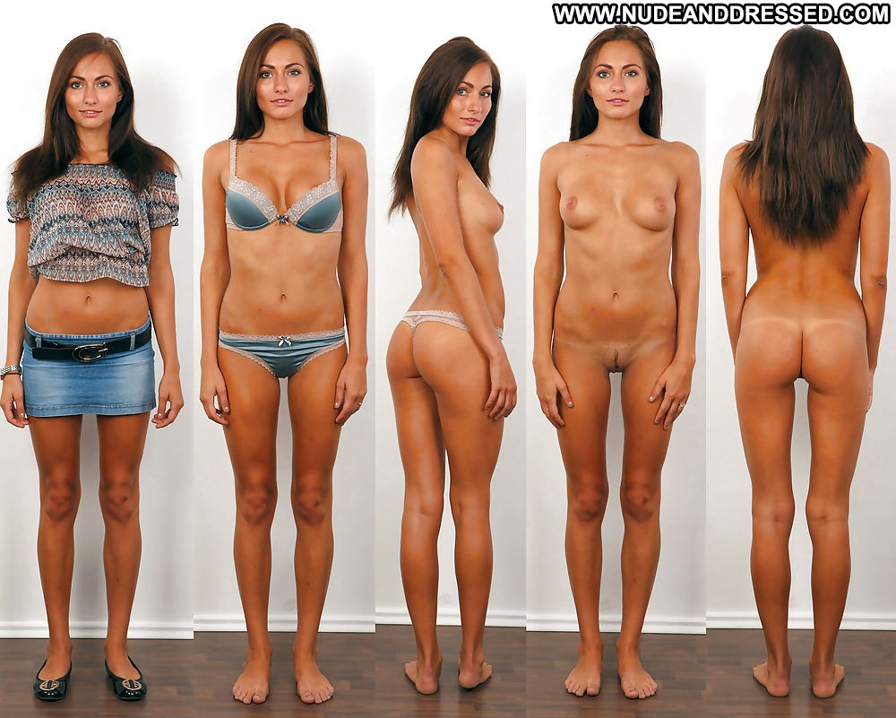 Babes clothed and nude