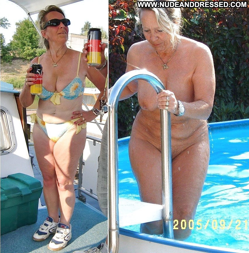 Bikini before and after nude