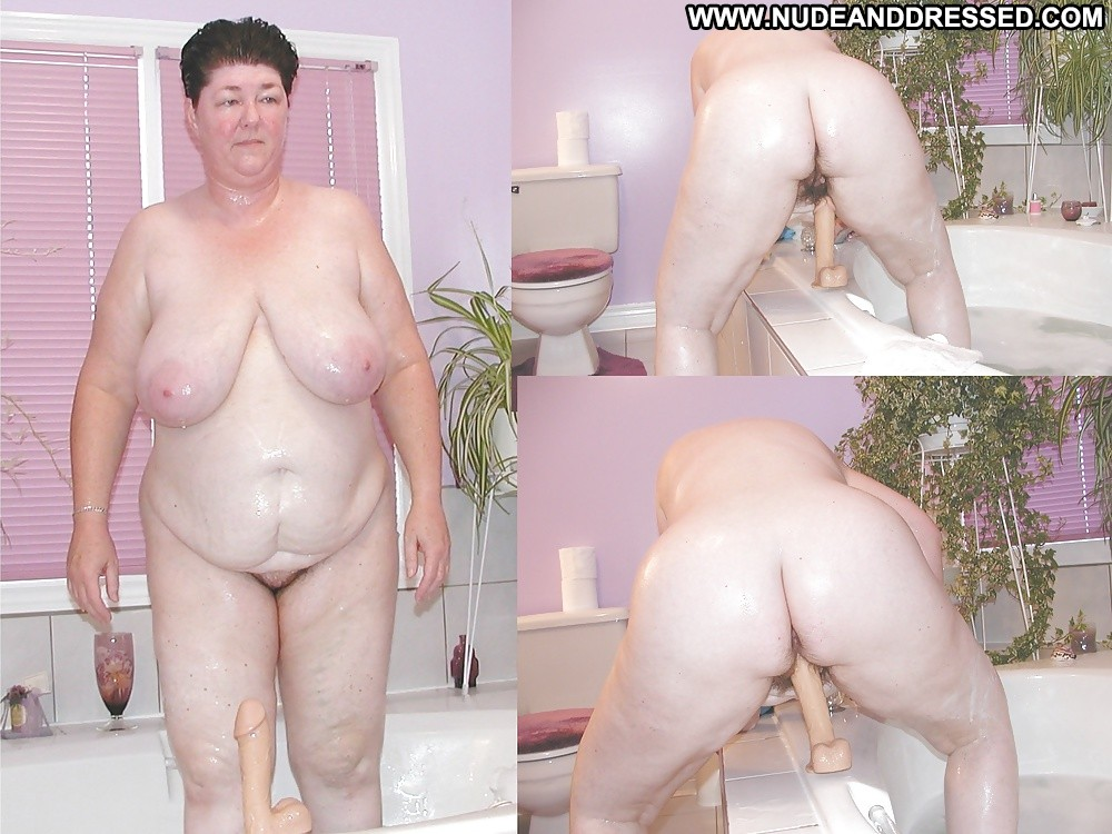 Fat older couple is active 2